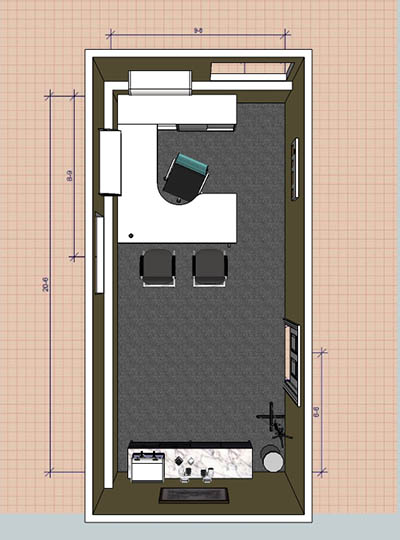 Office floor plan Buffalo NY